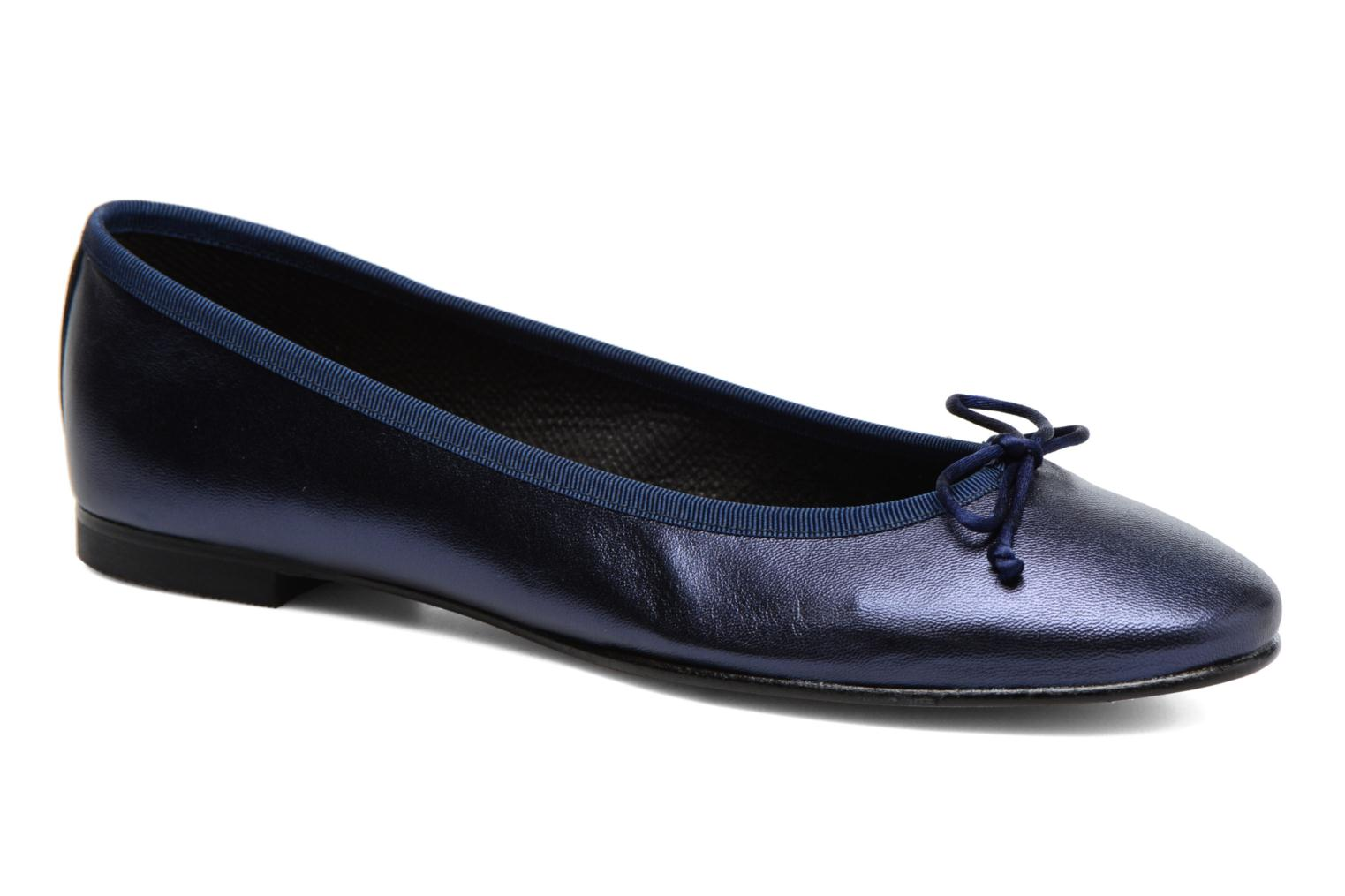 Ballet pumps Anna Volodia Luna Blue detailed view/ Pair view