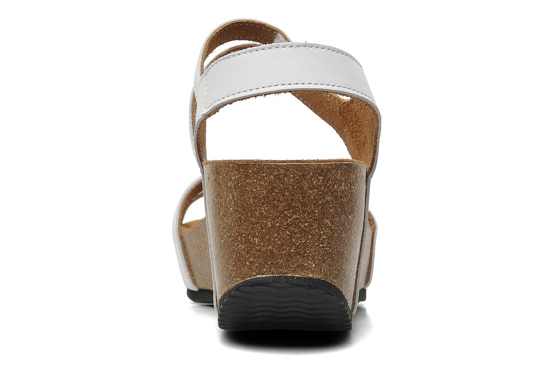 Sandales et nu-pieds Rondinaud Falleron Blanc vue droite