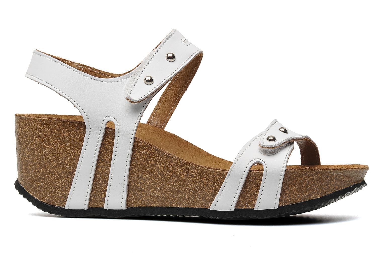 Sandales et nu-pieds Rondinaud Falleron Blanc vue derrière