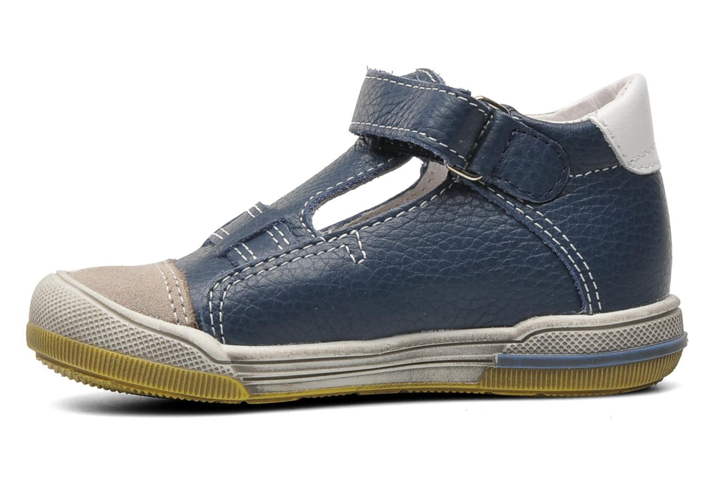 Chaussures à scratch Bopy BESSAT Bleu vue face