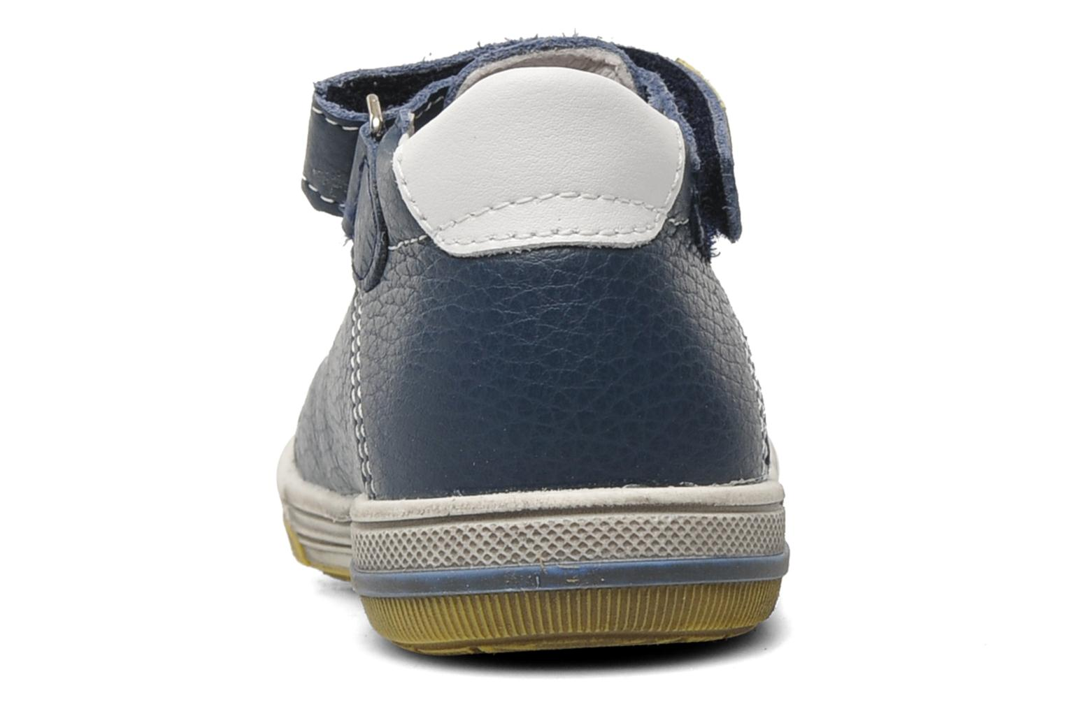 Velcro shoes Bopy BESSAT Blue view from the right