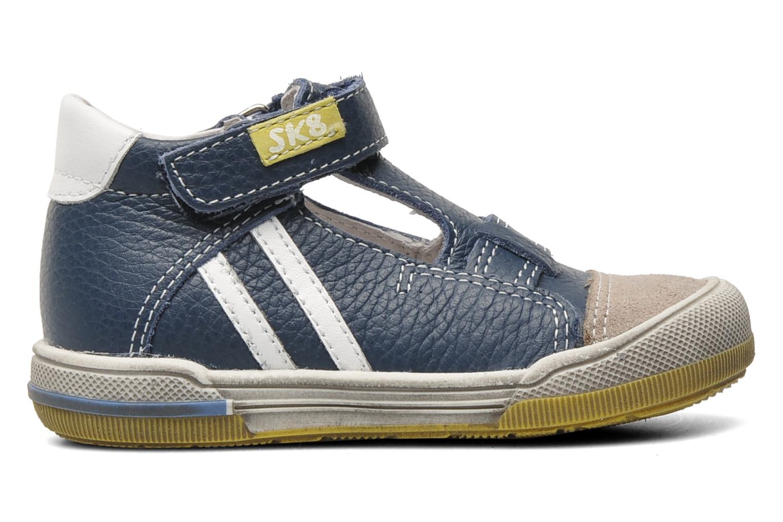 Chaussures à scratch Bopy BESSAT Bleu vue derrière