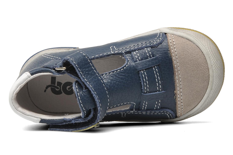 Schoenen met klitteband Bopy BESSAT Blauw links