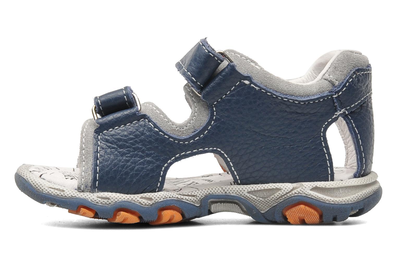 Sandales et nu-pieds Bopy BOMBO Bleu vue face