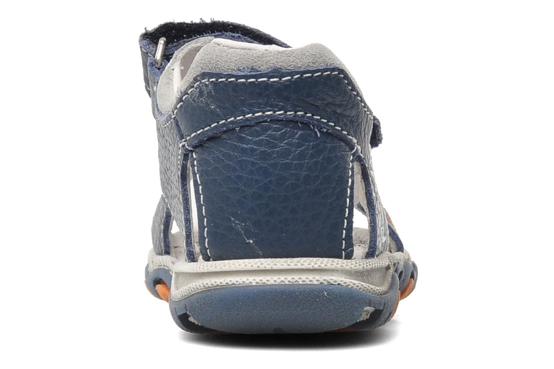 Sandalen Bopy BOMBO blau ansicht von rechts
