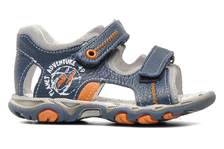 Sandaler Bopy BOMBO Blå bild från baksidan