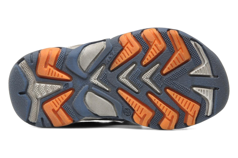 Sandales et nu-pieds Bopy BOMBO Bleu vue haut