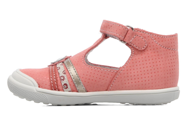 Sandalen Bopy BORINA rosa ansicht von vorne