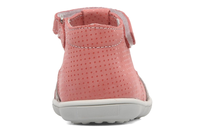 Sandalen Bopy BORINA rosa ansicht von rechts