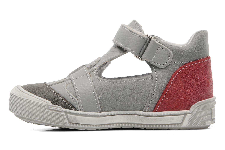 Sandals Bopy BRICO Grey front view