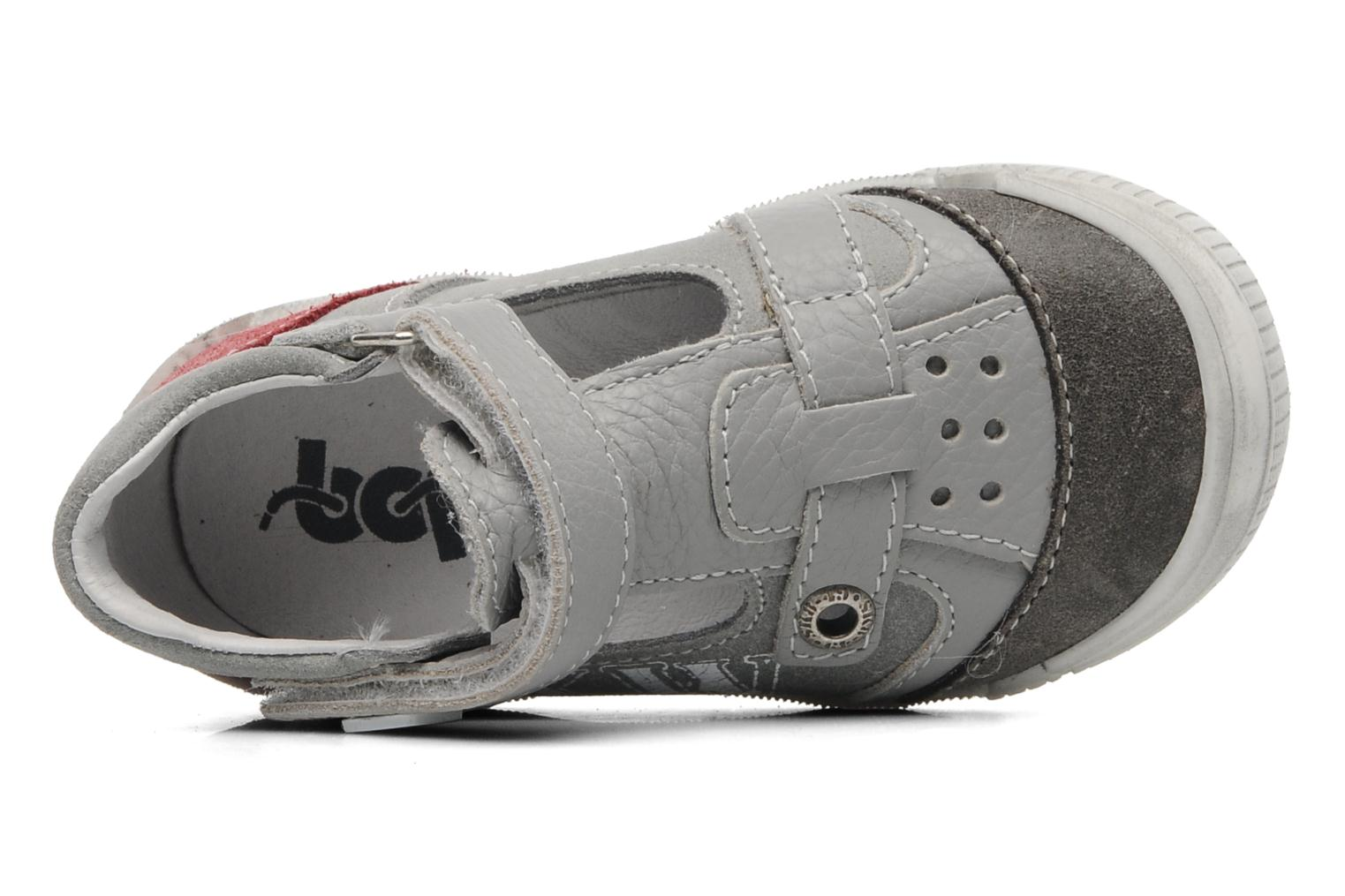 Sandals Bopy BRICO Grey view from the left