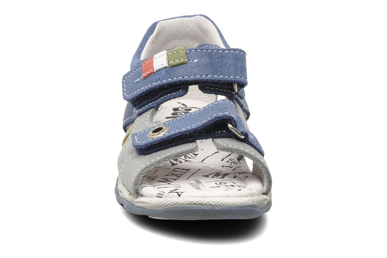 Sandales et nu-pieds Bopy BROC Bleu vue portées chaussures