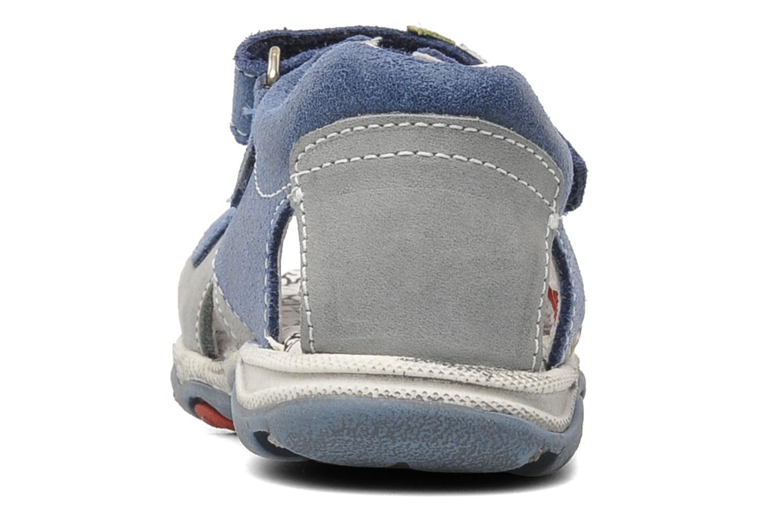 Sandalen Bopy BROC blau ansicht von rechts