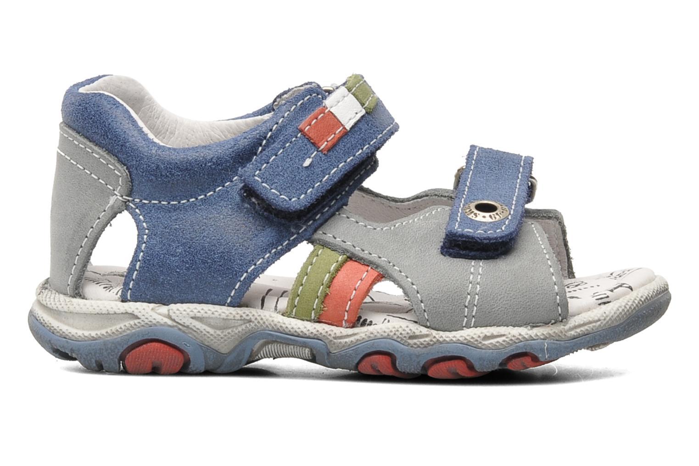 Sandalen Bopy BROC blau ansicht von hinten
