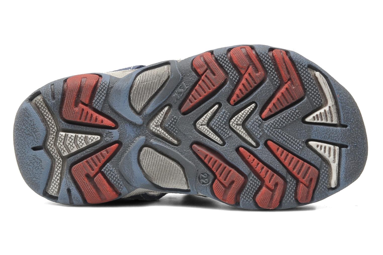 Sandales et nu-pieds Bopy BROC Bleu vue haut