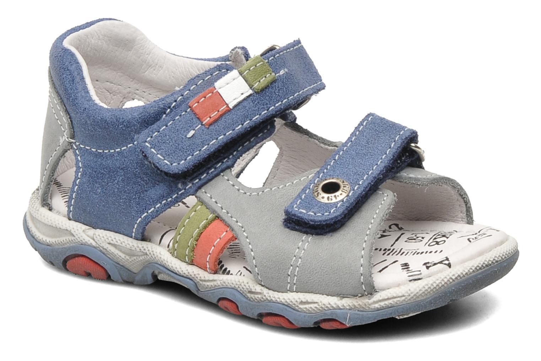 Sandales et nu-pieds Bopy BROC Bleu vue détail/paire