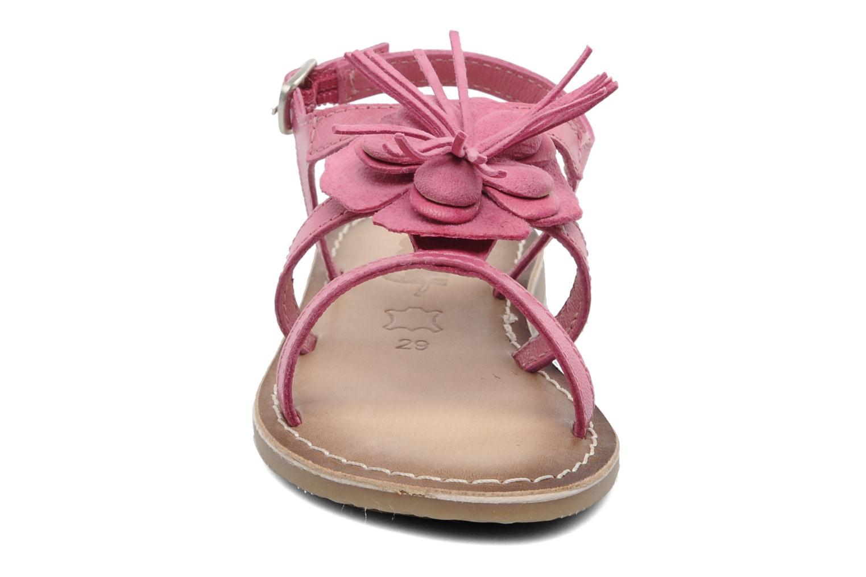 Sandali e scarpe aperte Bopy FERIDA Rosa modello indossato