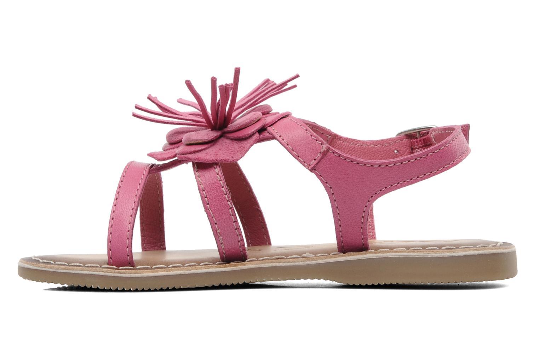 Sandalen Bopy FERIDA rosa ansicht von vorne