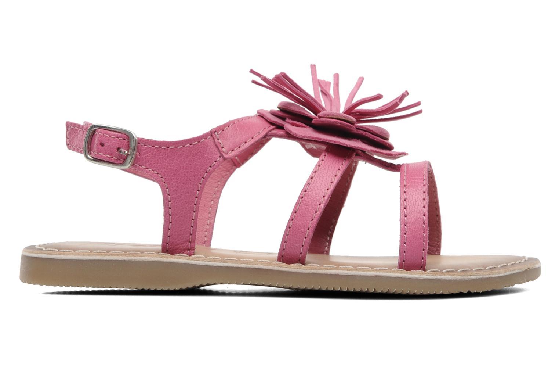Sandalen Bopy FERIDA rosa ansicht von hinten