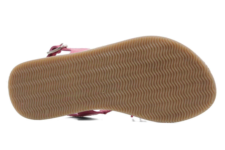 Sandalen Bopy FERIDA rosa ansicht von oben