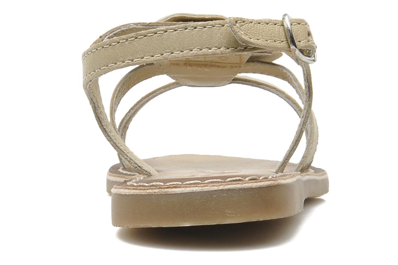Sandaler Bopy FERIDA Beige Bild från höger sidan