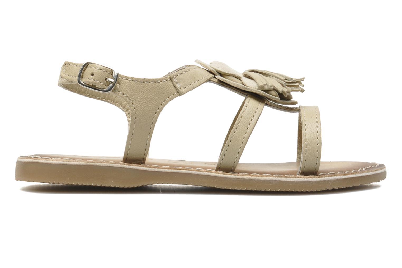 Sandaler Bopy FERIDA Beige bild från baksidan