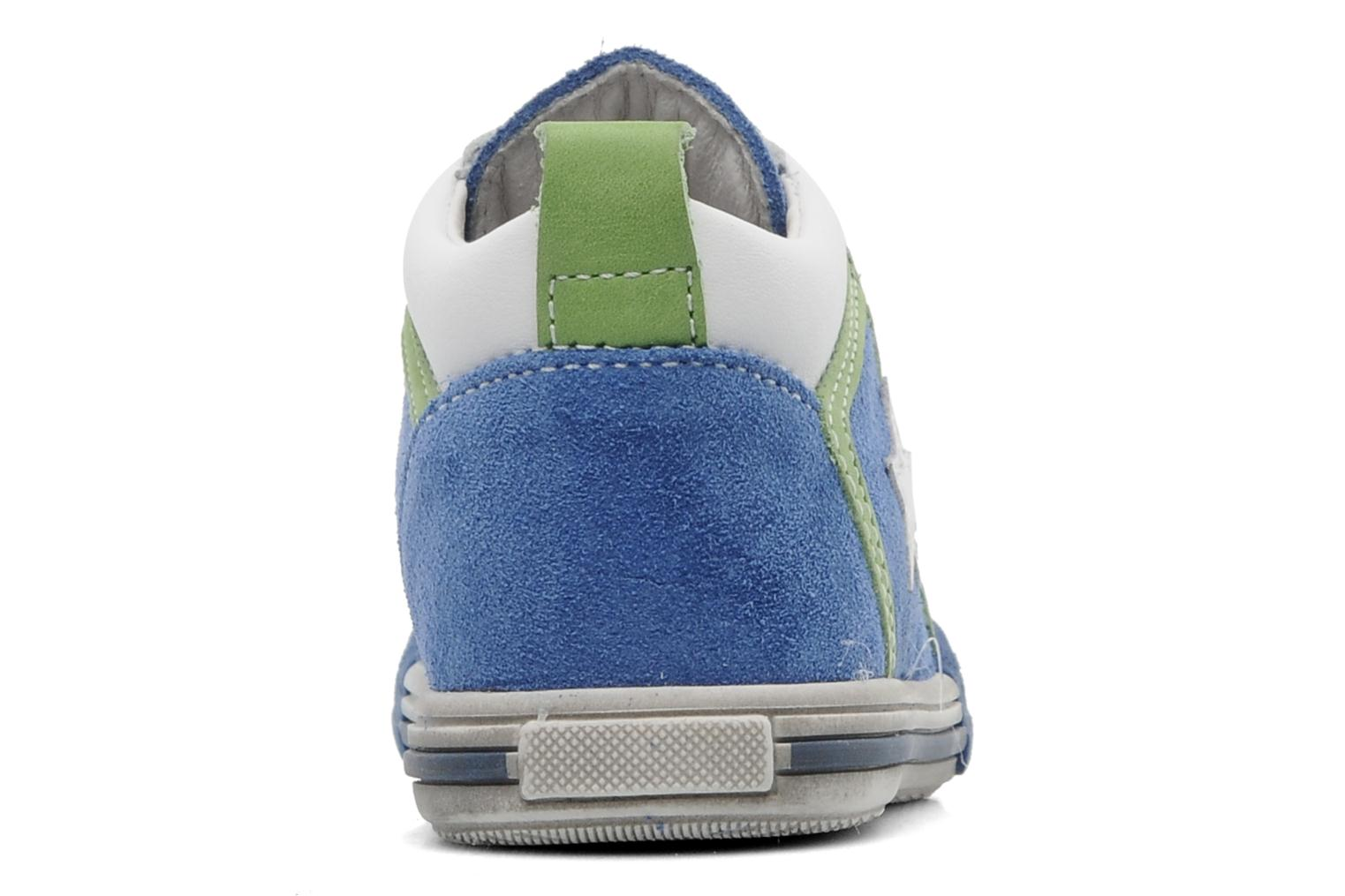 Trainers Bopy ZECLAIR Blue view from the right