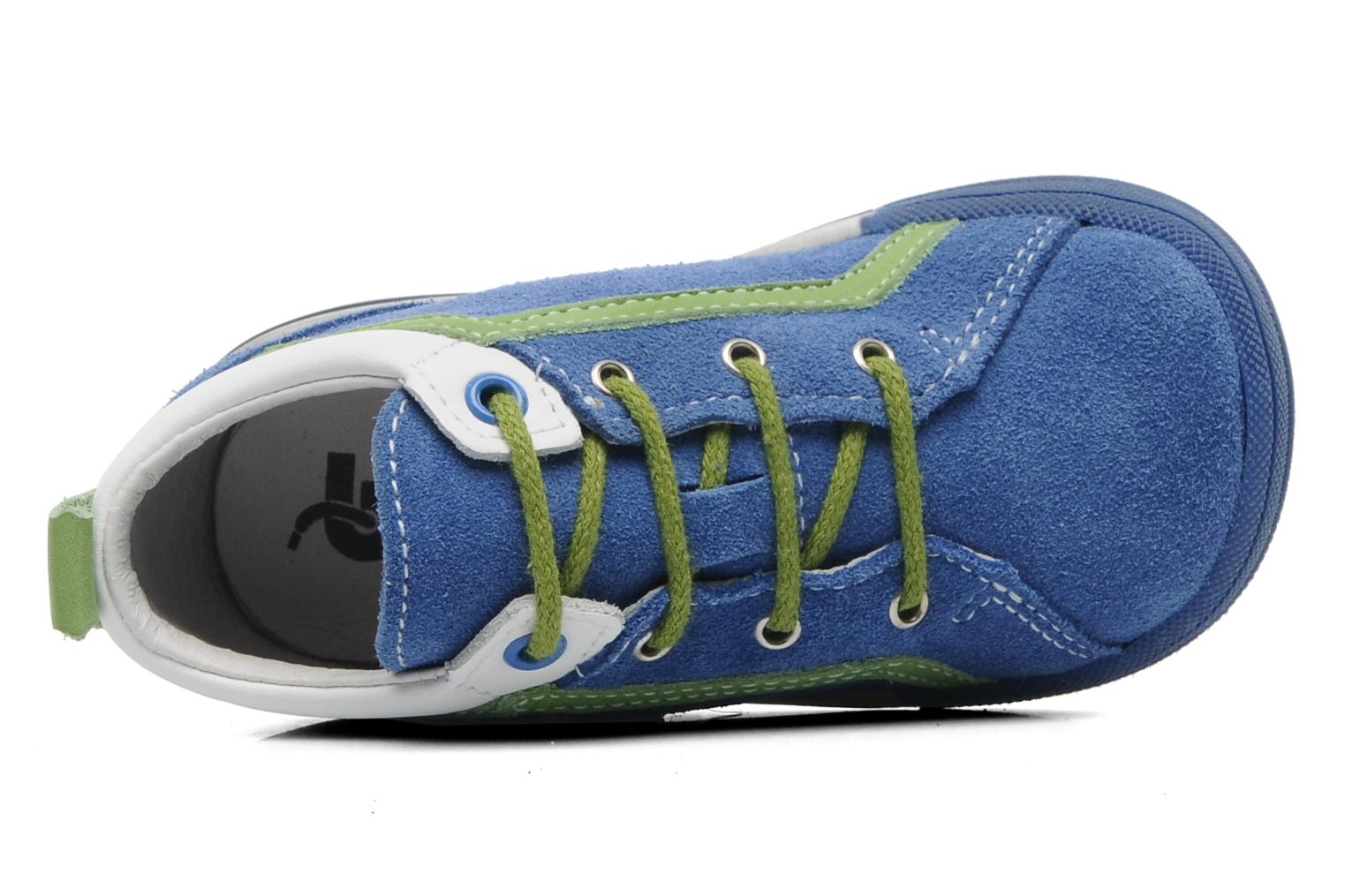 Trainers Bopy ZECLAIR Blue view from the left