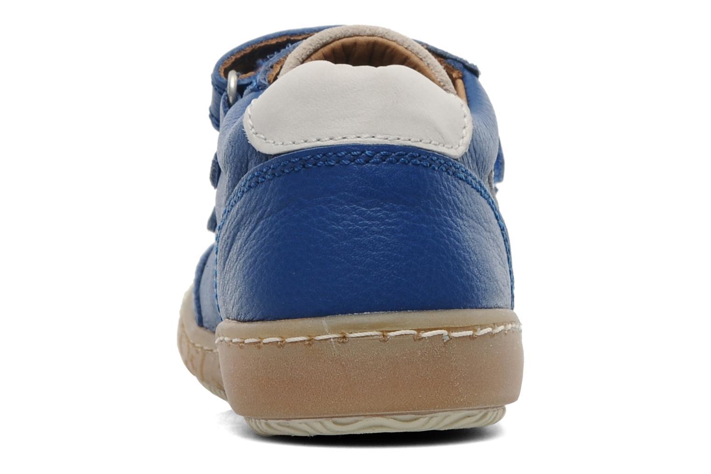 Sneaker Bisgaard Dan blau ansicht von rechts