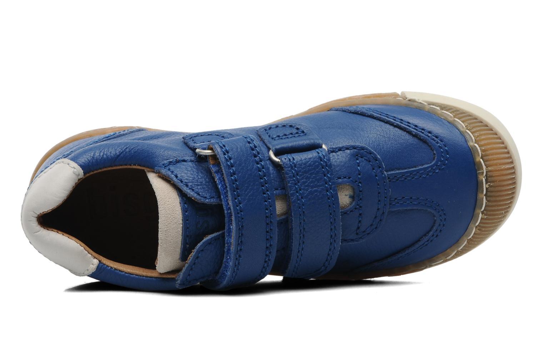 Sneaker Bisgaard Dan blau ansicht von links