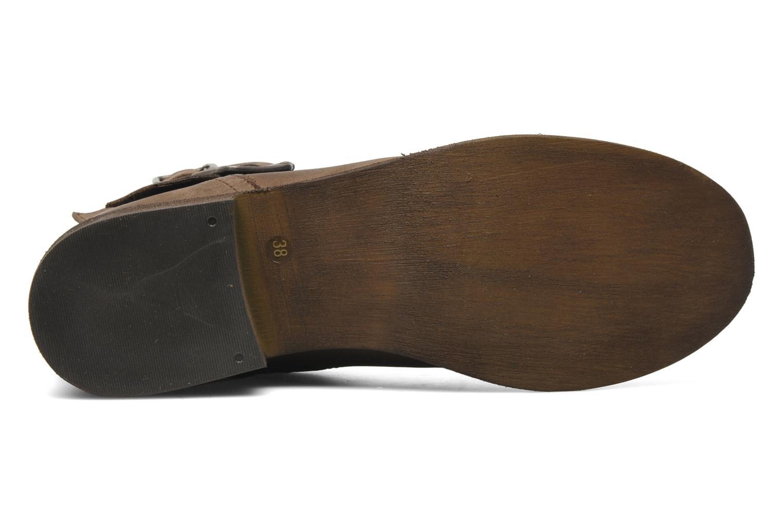 Stiefeletten & Boots Steve Madden TOKKEN (TAKERR) braun ansicht von oben