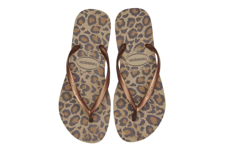 Slippers Havaianas Slim Animals Bruin 3/4'