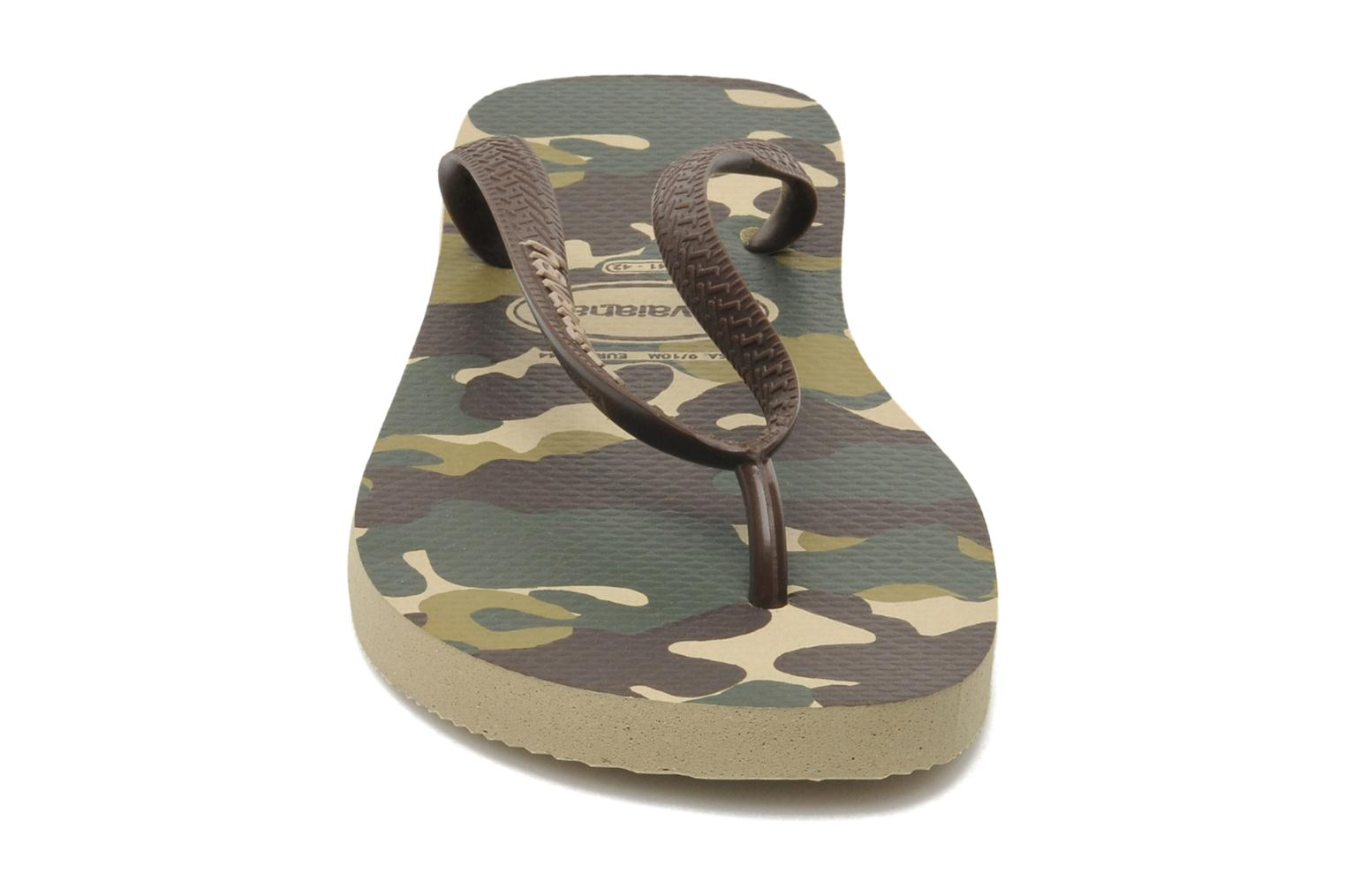 Slippers Havaianas Top Camuflada Bruin model