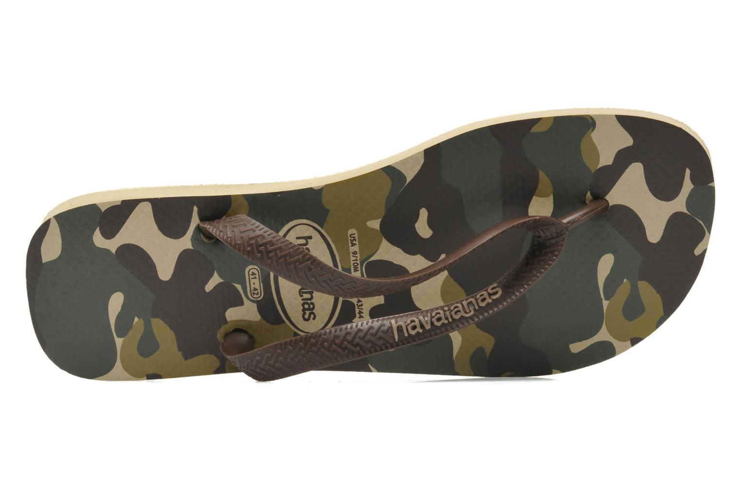 Slippers Havaianas Top Camuflada Bruin links