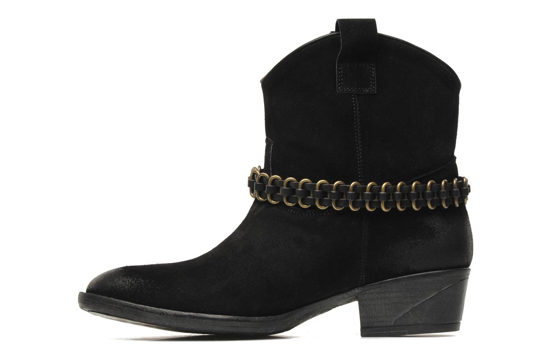 Boots en enkellaarsjes Liu Jo Texano Basso Antigone Zwart voorkant