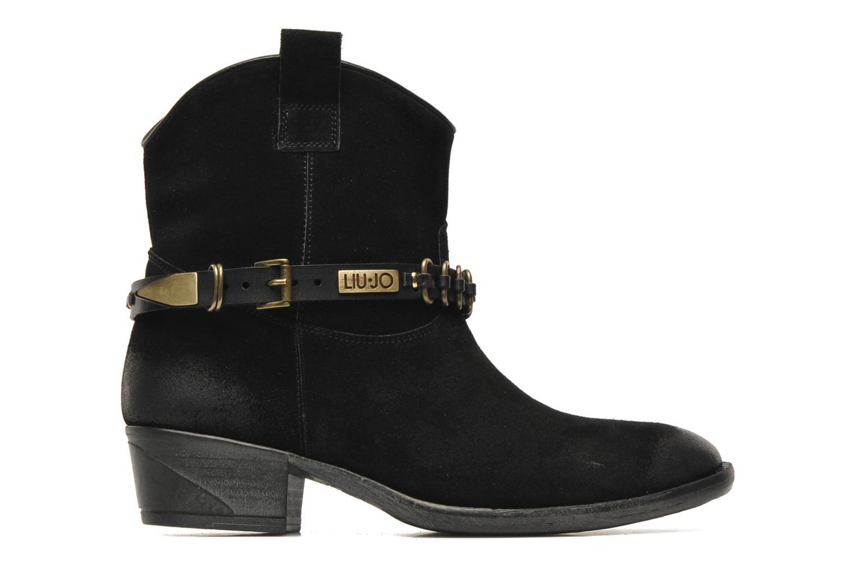 Boots en enkellaarsjes Liu Jo Texano Basso Antigone Zwart achterkant