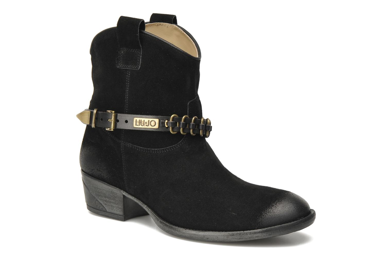 Boots en enkellaarsjes Liu Jo Texano Basso Antigone Zwart detail