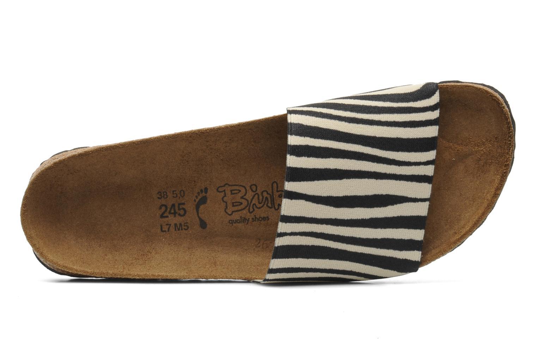Clogs & Pantoletten Birki's Belau Textile mehrfarbig ansicht von links