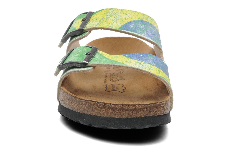 Sandaler Birki's Santiago Flor M Grön bild av skorna på
