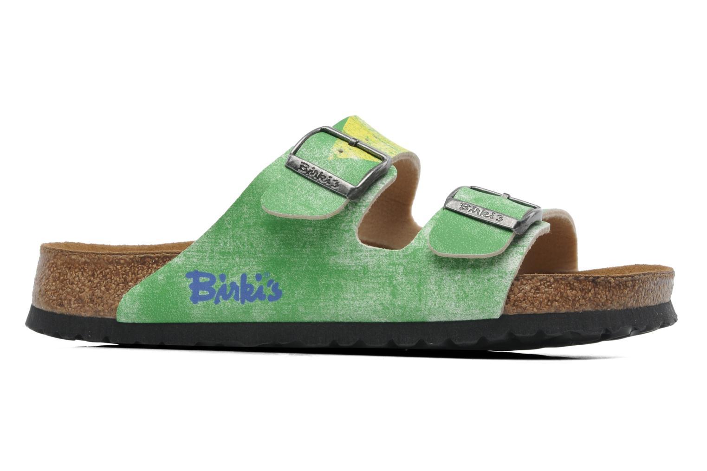 Sandaler Birki's Santiago Flor M Grön bild från baksidan