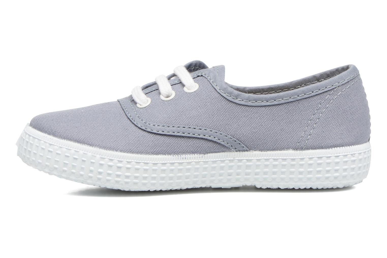 Sneaker Victoria Inglesa Lona grau ansicht von vorne