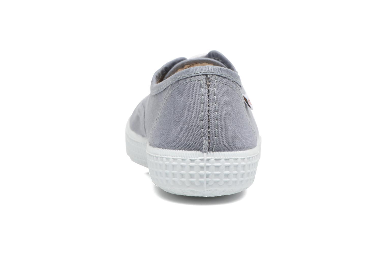 Sneaker Victoria Inglesa Lona grau ansicht von rechts