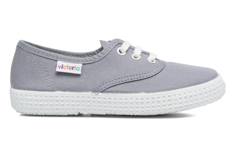 Sneakers Victoria Inglesa Lona Grijs achterkant
