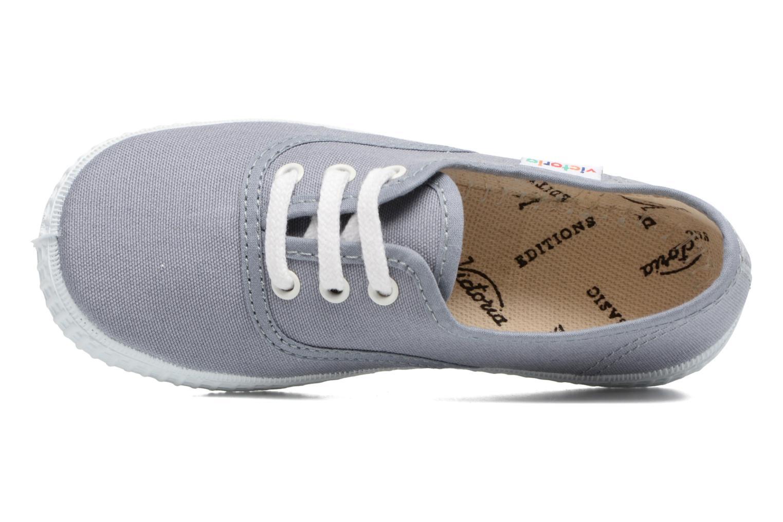 Sneakers Victoria Inglesa Lona Grijs links