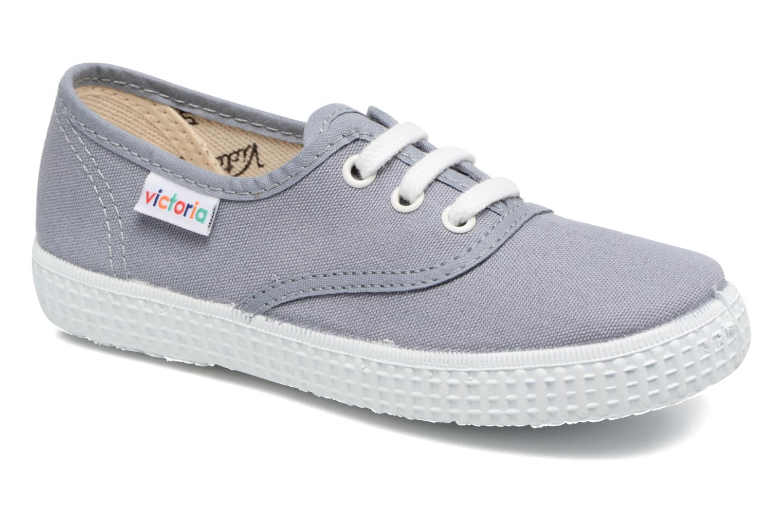 Sneakers Victoria Inglesa Lona Grijs detail