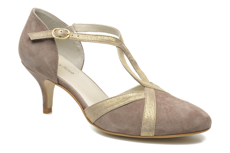 Zapatos de tacón Georgia Rose Titine Beige vista de detalle / par