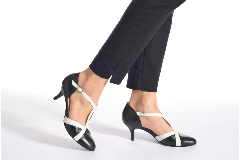 Zapatos de tacón Georgia Rose Titine Negro vista de abajo