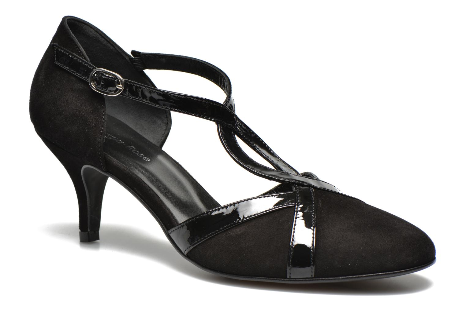 High heels Georgia Rose Titine Black detailed view/ Pair view