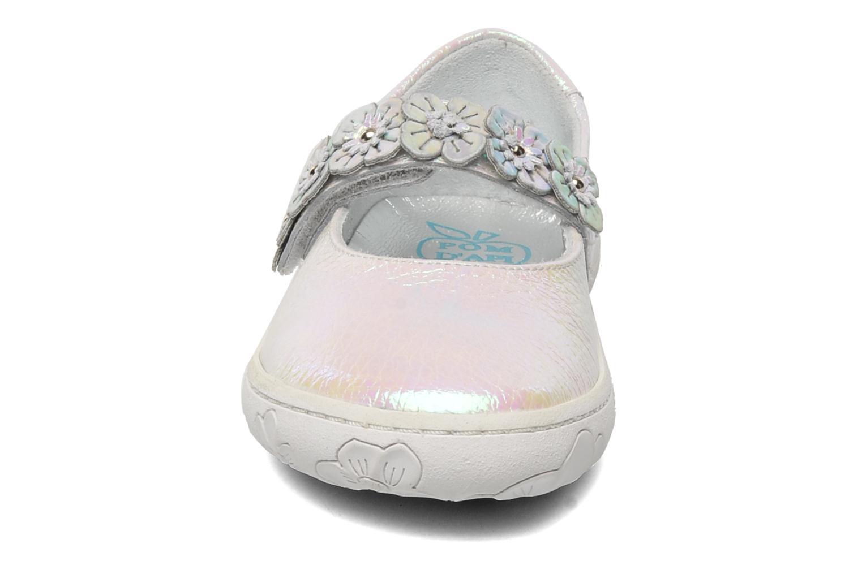 Ballerina Pom d Api MAPLE VELCRO SANDAL Vit bild av skorna på