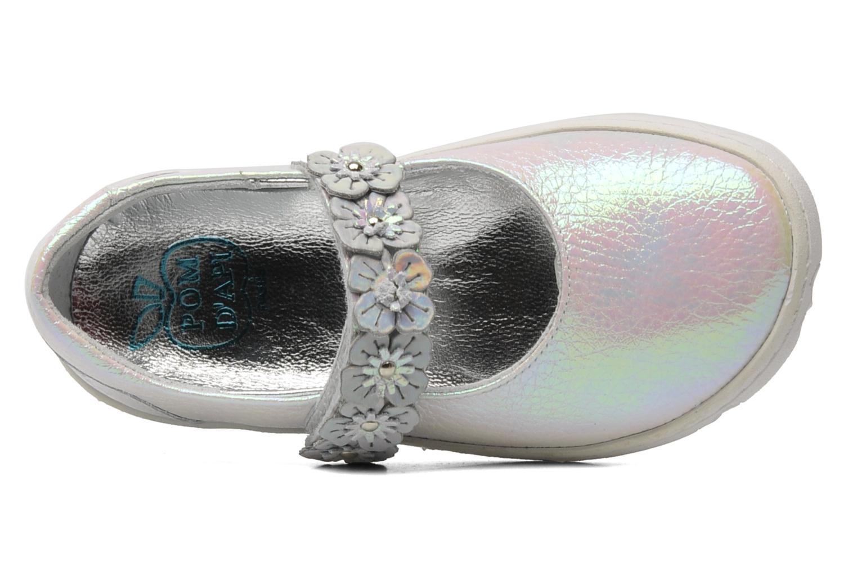 Ballerina's Pom d Api MAPLE VELCRO SANDAL Wit links